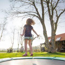 Ronde versus rechthoekige trampolines