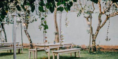 Makkelijke tuininrichting