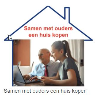 Samen met ouders een woning kopen