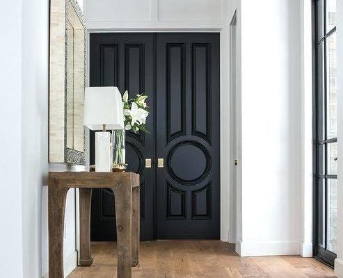 Vier redenen om zwarte binnendeuren te hebben